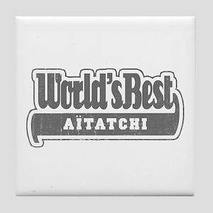WB Grandpa [Basque] Tile Coaster
